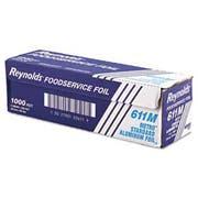 Reynolds Wrap Metro Aluminum Foil Roll, Lighter Gauge Standard, 12 inch x 1000ft, Silver