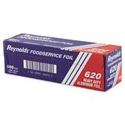 Reynolds Wrap Heavy Duty Aluminum Foil Roll, 12 inch x 500 ft, Silver