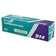 Reynolds Wrap PVC Film Roll w/Cutter Box, 18 inch x 2000ft, Clear