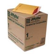 Sealed Air Jiffylite Self-Seal Mailer, Side Seam, #1, 7 1/4 x 12, Golden Brown, 100/Carton