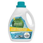 Seventh Generation Natural Liquid Laundry Detergent, Ultra Power Plus, Fresh Scent, 54 Loads, 95 oz