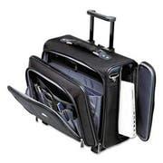Samsonite Side Loader Office Rolling Laptop Case, Nylon, 17-1/2 x 17-1/2 x 15, Black