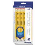 Staedtler Woodcase Pencil, 48/Pk