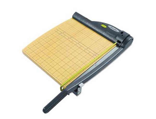 Swingline ClassicCut Laser Trimmer, 15 Sheets, Metal/Wood Composite Base,12 inch x 12 inch