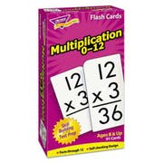 TREND Skill Drill Flash Cards, 3 x 6, Multiplication