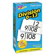 TREND Skill Drill Flash Cards, 3 x 6, Division
