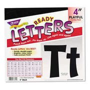 TREND Ready Letters Playful Combo Set, Black, 4 inchh, 216/Set