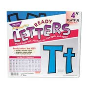 TREND Ready Letters Playful Combo Set, Blue, 4 inchh, 216/Set