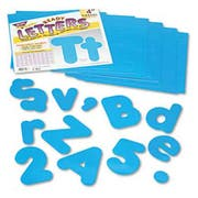 TREND Ready Letters Casual Combo Set, Blue, 4 inchh, 182/Set