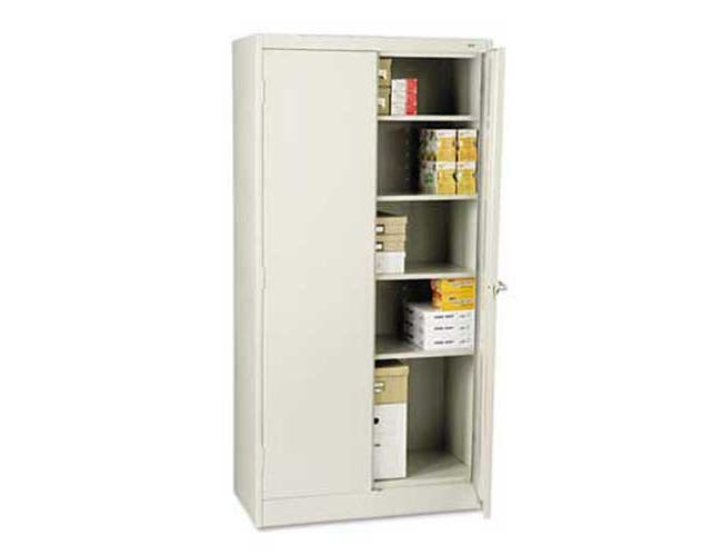Tennsco 72 inch High Standard Cabinet, 36w x 18d x 72h, Light Gray