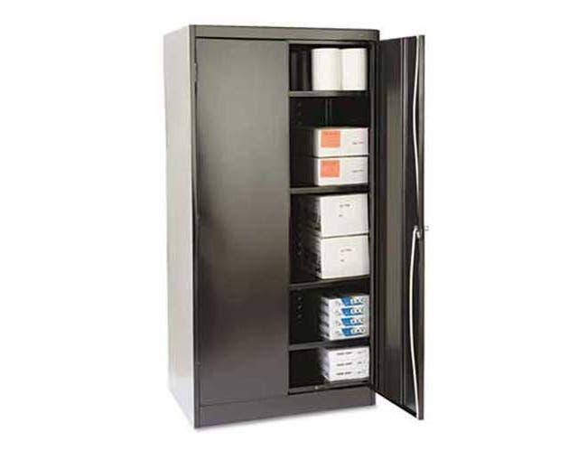 Tennsco 72 inch High Standard Cabinet, 36w x 24d x 72h, Black