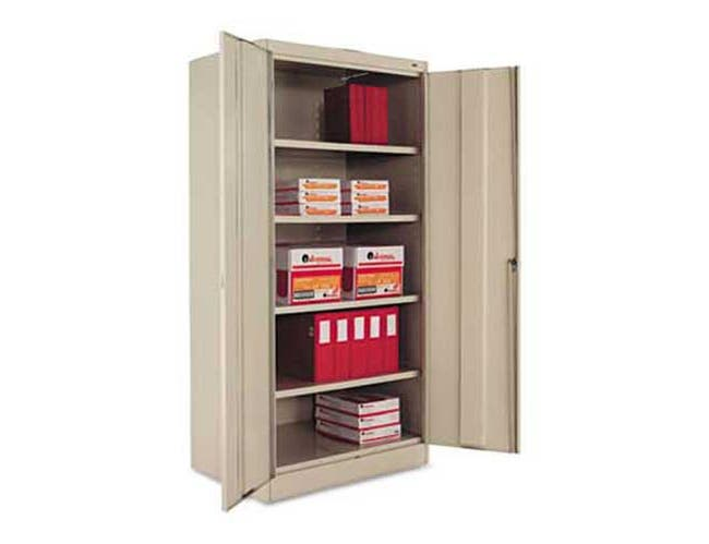 Tennsco 72 inch High Standard Cabinet, 36w x 24d x 72h, Putty