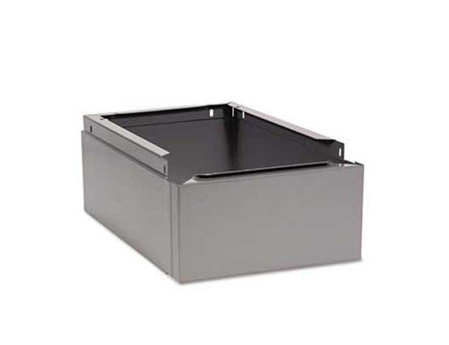 Tennsco Optional Locker Base, 12w x 18d x 6h, Medium Gray