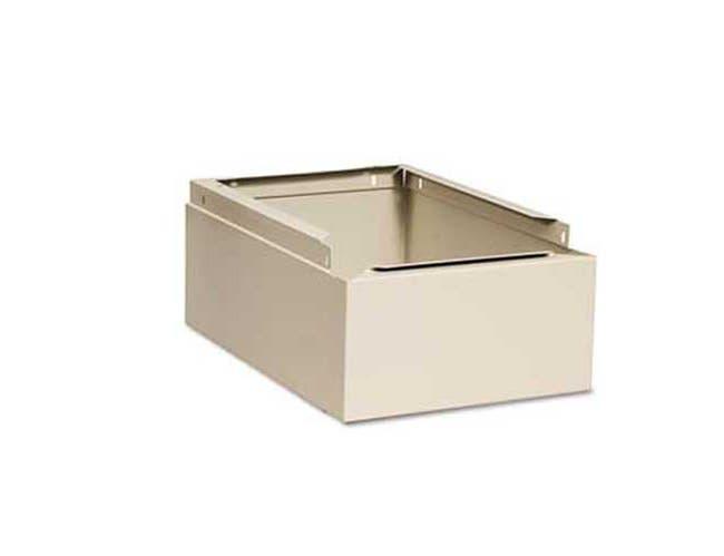 Tennsco Optional Locker Base, 12w x 18d x 6h, Sand