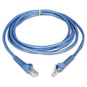 Tripp Lite CAT6 Snagless Patch Cable, 14 ft, Blue