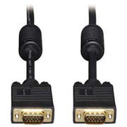 Tripp Lite VGA Monitor Cables, 50 ft, Black, HD15 Male; HD15 Male