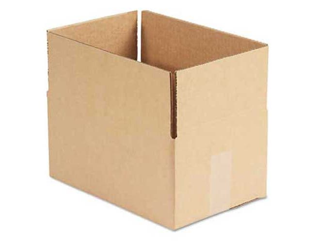 General Supply Brown Corrugated - Fixed-Depth Shipping Boxes, 8l x 12w x 6h, 25/Bundle