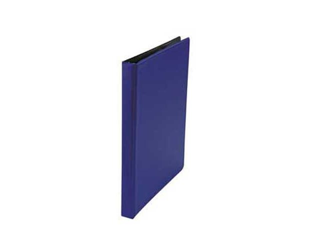 Universal Suede Finish Round Ring Binder, 1/2 inch Capacity, Royal Blue