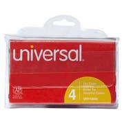 Universal Dry Erase Markers, Bullet Tip, Assorted, 4/Set