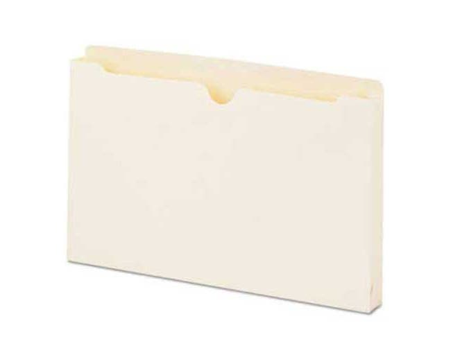 Universal Economical File Jackets with 1 1/2 Expansion, Legal, 11 Point Manila, 50/Box