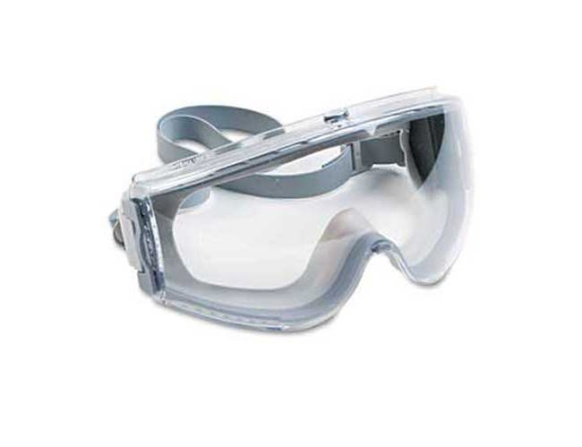 Uvex by Honeywell Stealth Antifog, Antiscratch, Antistatic Goggles, Clear Lens, Gray Frame