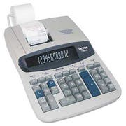 Victor 1560-6 Two-Color Ribbon Printing Calculator, Black/Red Print, 5.2 Lines/Sec