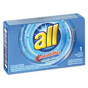 All All Ultra Coin-Vending Powder Laundry Detergent, 1 load, 100/Carton