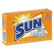 SUN Color Safe Powder Bleach, Vend Pack, 1 load Box, 100/Carton