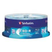 Verbatim BD-R Blu-Ray Disc, 25GB, 6x, 25/Pk