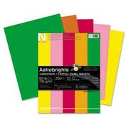 Neenah Paper Astrobrights Colored Card Stock, 65 lb., 8-1/2 x 11, Assorted, 250 Sheets