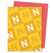 Neenah Paper Astrobrights Colored Card Stock, 65 lb., 8-1/2 x 11, Rocket Red, 250 Sheets