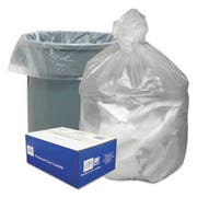 Good n Tuff High Density Waste Can Liners, 55-60gal, 12 Microns, 38x58, Natural, 200/Carton