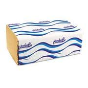Windsoft Embossed Singlefold Towels, 9 3/10 x 10 1/2, Natural, 250/Pack, 16 Packs/Carton