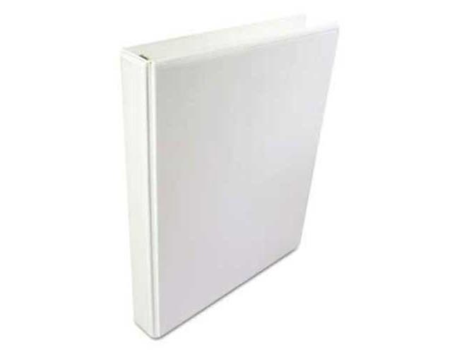 Wilson Jones A4 International Round Ring View Binder, 2 inch Cap, 8 1/2 x 11 5/8, White