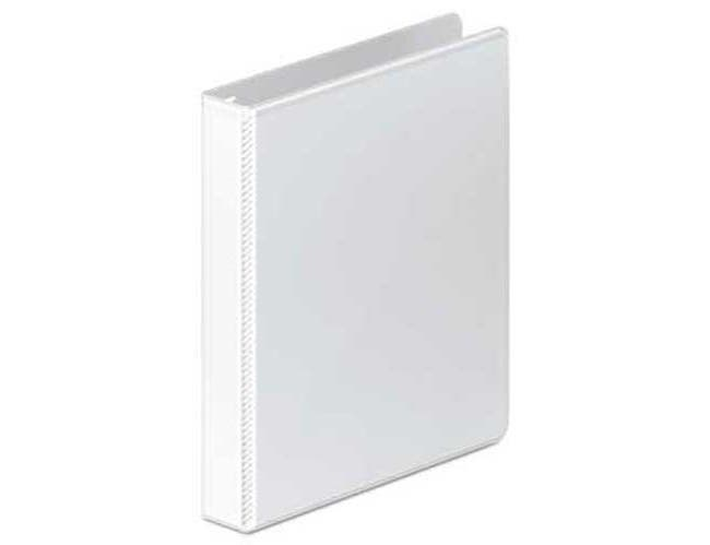 Wilson Jones Ultra Duty D-Ring View Binder w/Extra-Durable Hinge, 1 inch Cap, White