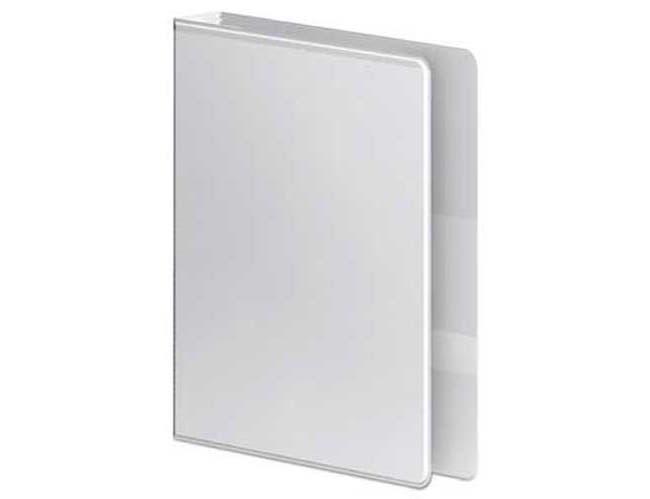 Wilson Jones Ultra Duty D-Ring View Binder w/Extra-Durable Hinge, 1 1/2 inch Cap, White