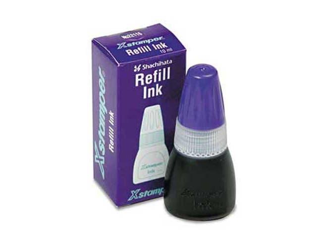 Xstamper Refill Ink for Xstamper Stamps, 10ml-Bottle, Purple