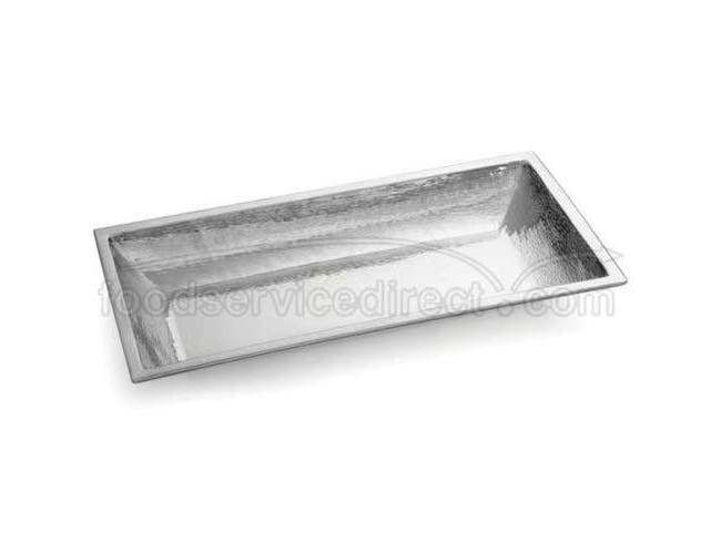 Tablecraft Remington Collection 18-8 Stainless Steel Rectangular Bowl, 27 1/2 x 13 1/2x 3 inch -- 1 each.