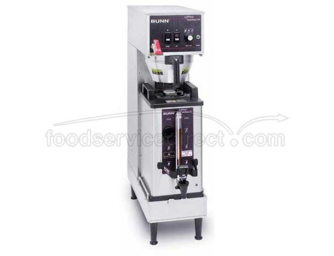 Bunn O Matic Single Soft Heat Coffee Brewer - 120 Volt, 35.8 x 9.3 x 20.0 inch -- 1 each.