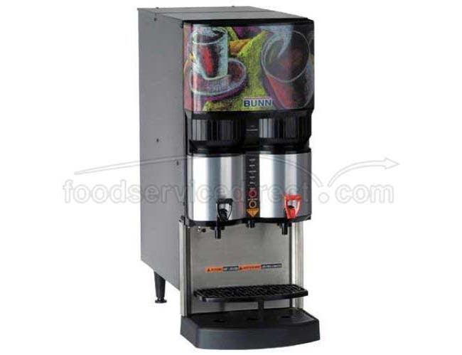 Bunn O Matic LCA-2 Scholle 1910LX Ambient Liquid Coffee Dispenser, 30 x 12.2 x 24.9 inch -- 1 each.