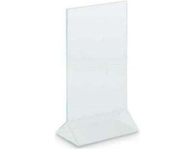 Top Loading seamless Acrylic Sign Holder. Size: 7 x 11 inch -- 1 each.