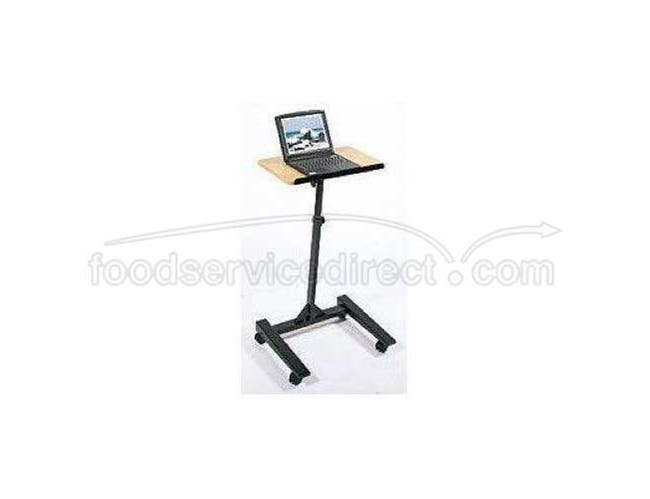 Luxor Adjustable Height Mobile Lectern -- 1 each.