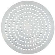 Winco Aluminum 164 Holes Super Perforated Pizza Disk, 10 inch Diameter -- 12 per case.