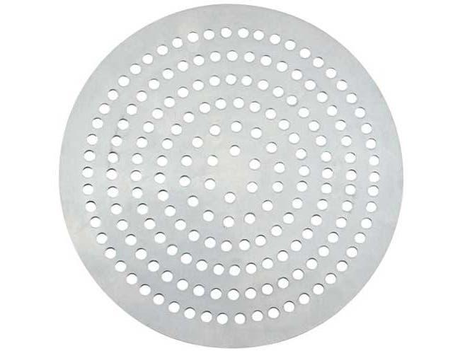 Winco Aluminum 226 Holes Super Perforated Pizza Disk, 11 inch Diameter -- 12 per case.