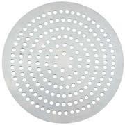 Winco Aluminum 72 Holes Perforated Pizza Disk, 7 inch Diameter -- 12 per case.