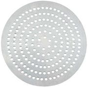 Winco Aluminum 114 Holes Super Perforated Pizza Disk, 8 inch Diameter -- 12 per case.