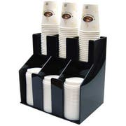 Winco 2 Tiers 3 Stacks Cup and Lid Organizer -- 4 per case.