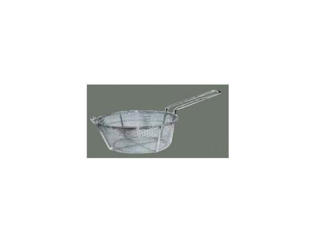 Winco 4 Mesh Round Wire Fry Basket, 8 1/2 x 4 1/4 inch -- 1 each.