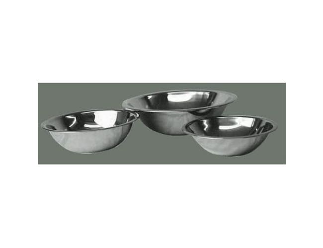 Winco Stainless Steel Economy Mixing Bowl, 13 Quart -- 1 each.
