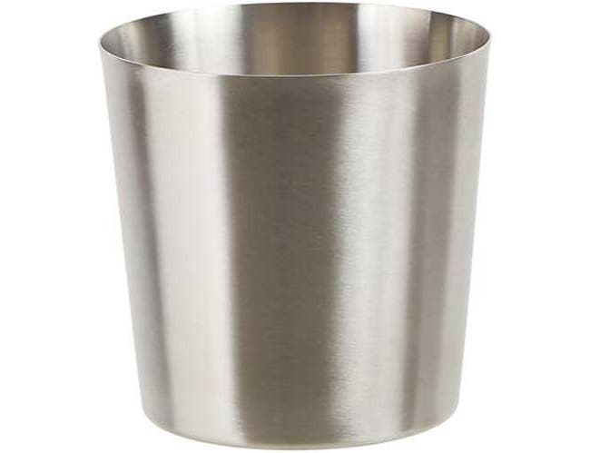 Winco Stainless Steel Solid Satin Finish Fry Cup, 3 1/4 inch Dia x 3 1/2 inch Height -- 12 per case.